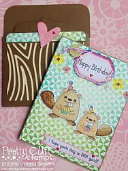 Birthday Beavers Digital Stamps