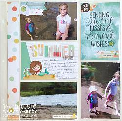 Mermaid Kisses Digital Stamps