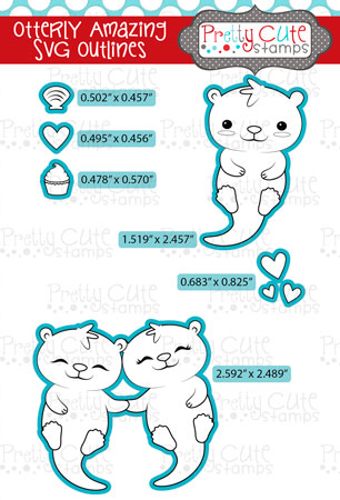 Otterly Amazing SVG Outlines