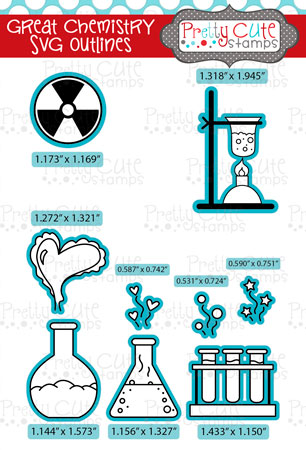 Great Chemistry SVG Outlines