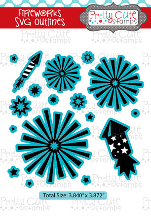 Fireworks SVG Outlines