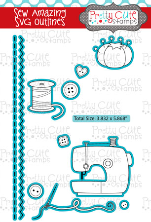 Sew Amazing SVG Outlines