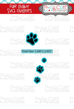 Fur Baby SVG Outlines