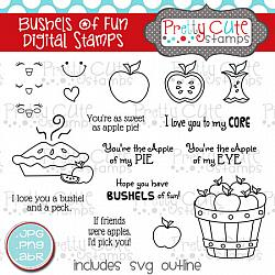 Bushels of Fun Digital Stamps