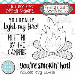 Light my Fire Digital Stamps