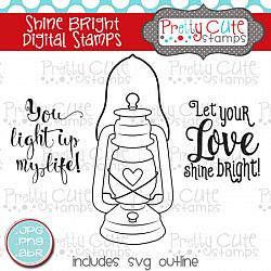 Shine Bright Digital Stamps