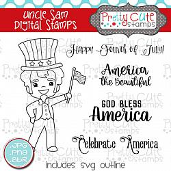 Uncle Sam Digital Stamps