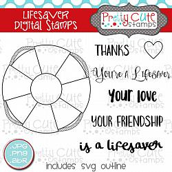 Lifesaver Digital Stamps