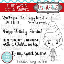 Little Sweetie Digital Stamps