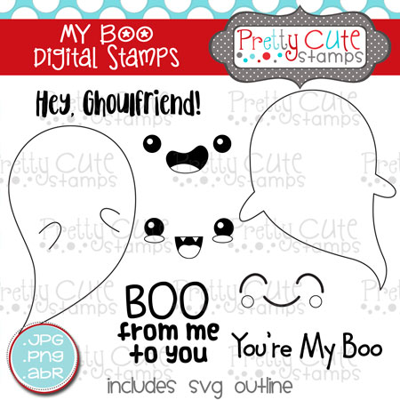 My Boo Digital Stamps