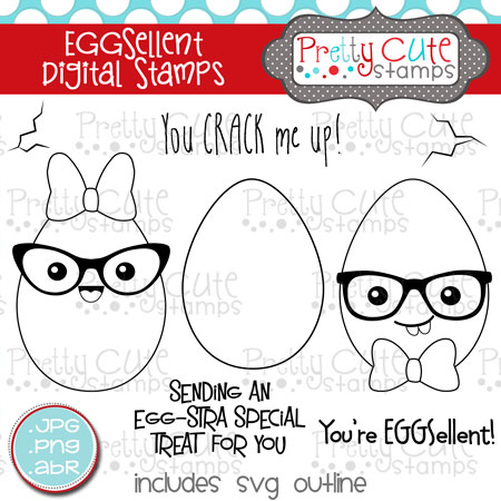 EGGSellent Digital Stamps