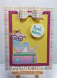 Bookworms Digital Stamps
