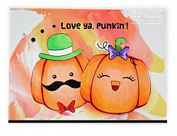 My Favorite Pumpkin Digital Stamps