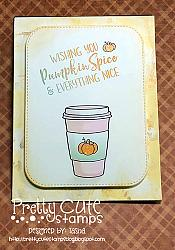 Pumpkin Spice Digital Stamps