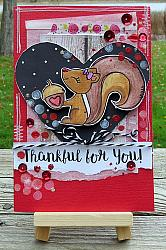 Squirrels in Love Digital Stamps
