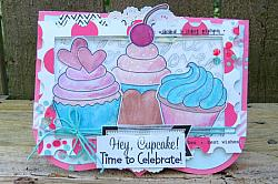 Hey, Cupcake! Digital Stamps