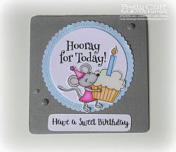 Birthday Mouse Digital Stamps